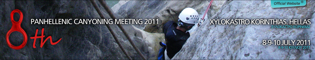 8th Canyoning Meeting 3