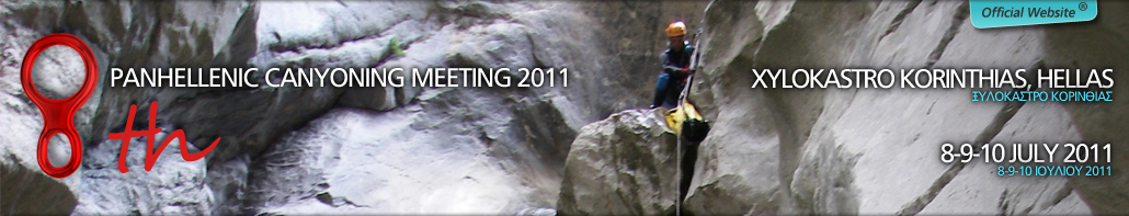 8th Canyoning Meeting 6