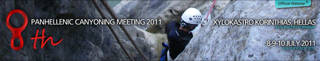 8th Canyoning Meeting 8