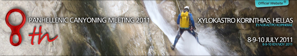 8th Canyoning Meeting 9